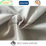 100 tessuto normale del rivestimento di qualità del taffettà 63D*63D del poliestere 210t