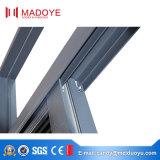Ventana de desplazamiento de cristal moderna de la aleación de aluminio
