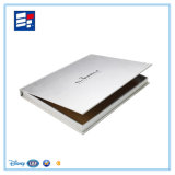 Caixa de presente luxuosa feita sob encomenda do estilo do livro de papel para mostrar da roupa