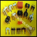 штепсельная вилка 3-Pin, подгонянные типы принята (HS-BS-0026)