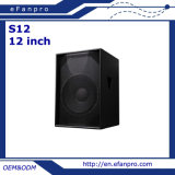 12 '' S12 FAVORABLE Sudio Subwoofer - tacto