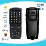 Dispositivo de captura de datos androide PDA con la tecnología NFC / 3G / Wi-Fi / Psam / Bluetooth / escáner lector de tarjeta