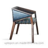 덮개를 씌운 방석 (SP-EC479)를 가진 편리한 단단한 나무 여가 의자