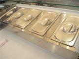 Tabela da salada do equipamento de Refrigeration para o alimento Refrigerated (GRT-PT23-404)