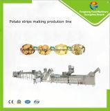 Bandes commerciales de pomme de terre faisant la chaîne de production, pommes frites faisant la machine