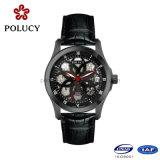 Relógio de esqueleto automático do OEM da fábrica de Shenzhen para homens