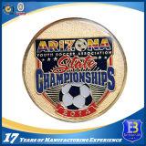 연약한 사기질 및 에폭시 (Ele-C053)를 가진 축구 승진 동전