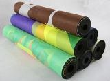 Modèle combiné antidérapant de couvre-tapis et d'essuie-main de couvre-tapis de yoga estampé par coutume de 7 Chakras