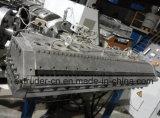 Plástico de PVC compuesto de techos hoja de extrusión de línea / PVC onda de la máquina de azulejos