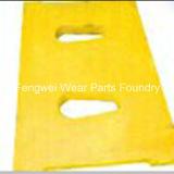 Placa de alavanca da alta qualidade para o triturador de maxila