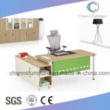 Verde moderno del metal del color tabla de la oficina popular gestor melamina Escritorio