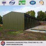 Prefabricated 농업 가벼운 강철 구조물 가금은 유숙하거나 흘렸다