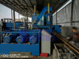 Bloque de acero del metal que hace la máquina