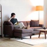 Design semplice Soggiorno Sofà tessuto moderno per uso domestico