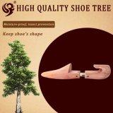 Árbol de madera modificado para requisitos particulares del zapato del cedro de la maneta de la insignia del laser de la talla