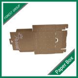 ブラウンの段ボール紙の包装ボックス