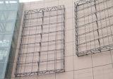 Acero inoxidable de aluminio del metal que hace publicidad de piezas del rectángulo ligero