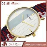 Relógio de vidro mineral das mulheres de quartzo do GV BSCI do Ce de RoHS