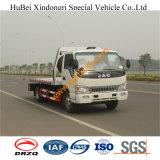 venta caliente de los carros de remolque del camión de auxilio de 6ton JAC para Traffice Jum Euro3