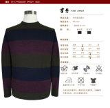 Свитер пуловера шеи длинней втулки осени серых людей Bm16050 круглый