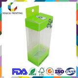 Rectángulo de empaquetado del claro del OEM de la fábrica de China para la pila de discos cosmética de los productos