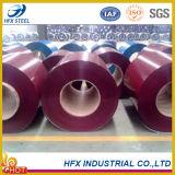 PPGI PPGL prepintó la bobina de acero en el color brillante para el material para techos