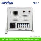 500W~8000W LCD 디스플레이, 3times 최고 출력을%s 가진 순수한 사인 파동 태양 에너지 충전기 변환장치