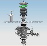 高容量の立方体整形水軟化剤システム