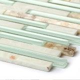 Плитки мозаики случайно прокладки строительного материала стеклянные для кухни Backsplash