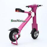 Bateria de lítio de duas rodas elétrica Mini scooter dobrável