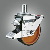 KERN PU-Fußrolle des Baugerüst-En1004 der Fußrollen-150X40mm Nylon