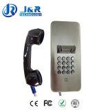 Teléfono SIP / VoIP de la prisión, Teléfonos sin hilos rugosos, Lotes de estacionamiento Teléfono de la emergencia