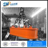 Imán de descarga de camiones que se adapta a la instalación de grúas con capacidad de elevación de 6000 Kg MW61-380160L / 1-75