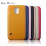 Cajas de cuero suaves ultrafinas del teléfono de la PU para Samsung J7/J5/S5