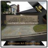 Cancello di alluminio decorativo dell'entrata della villa