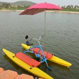水バイクまたは水自転車または水乗車のバイク
