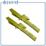 卸し売り中国はカスタムバッジPinの金属のエナメルの感謝したデッド折りえりPinを製造する