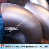 Codo de la autógena de tope del borde de placa del En BS JIS A182 F304/316L de la instalación de tuberías de acero inoxidable