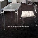 De acryl Organische Eettafel btr-Q1001 van het Glas