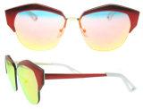 Lunettes de soleil en gros de la CE de modèle de l'Italie de lunettes de soleil d'usine de la Chine
