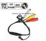 Mini caméra de sécurité de haute résolution de télévision en circuit fermé de surveillance de CCD de l'appareil-photo 600tvl 1/4 pH3299