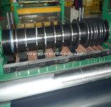 刃を切り開くステンレス鋼の版の切断