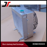 Réfrigérant à huile hydraulique personnalisé d'excavatrice de plaque de barre de modèle