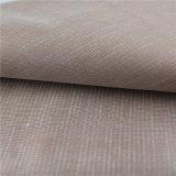 Верхняя кожа PVC сбывания 0.85mm выбитая для мебели