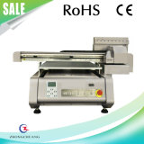 Impresora plana ULTRAVIOLETA de la lona de cuero de las materias textiles de la camiseta
