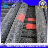 Sechseckiger Draht Nettting mit galvanisiertem/heißem Dipped/PVC überzogenem Eisen-Draht