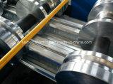 機械を形作る金属のデッキロール
