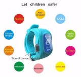Kid Wristwatch Q50 GPS Tracker Anti-Lost Sos Smartwatch pour Ios Android