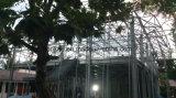 格子構造の繊維の鋼鉄建物