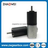 motor eléctrico del engranaje de la C.C. del micr3ofono de 24m m para el hogar